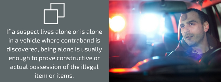Illegally Possessing Drugs